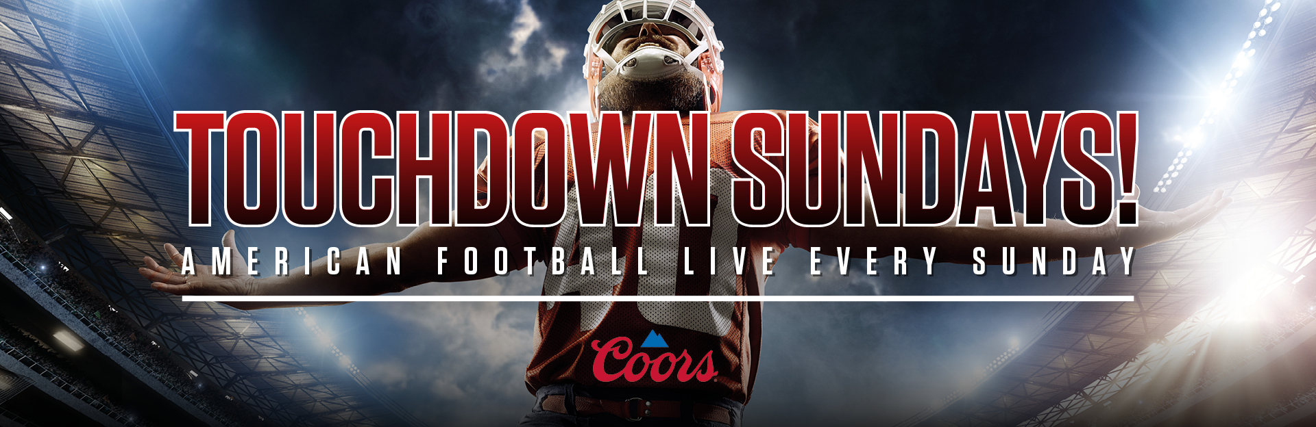 Watch NFL at The Three Crowns