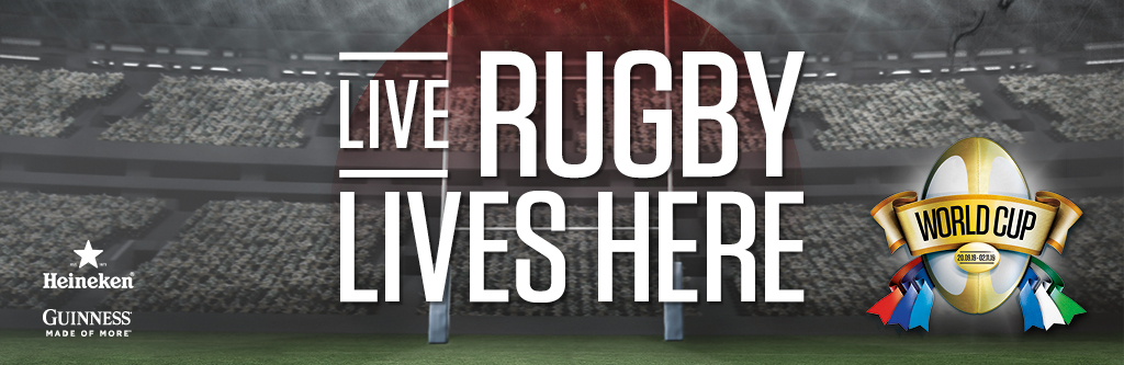 Live Rugby at The Three Crowns