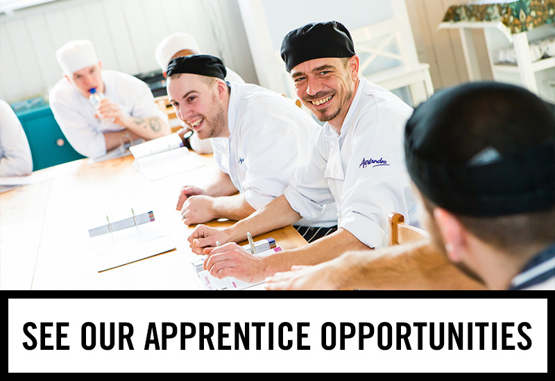 Apprenticeships at The Three Crowns