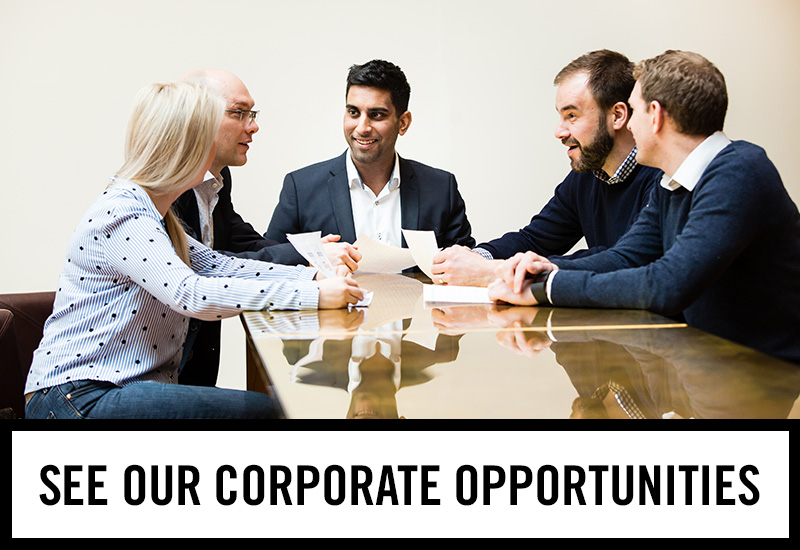 Corporate opportunities at The Three Crowns