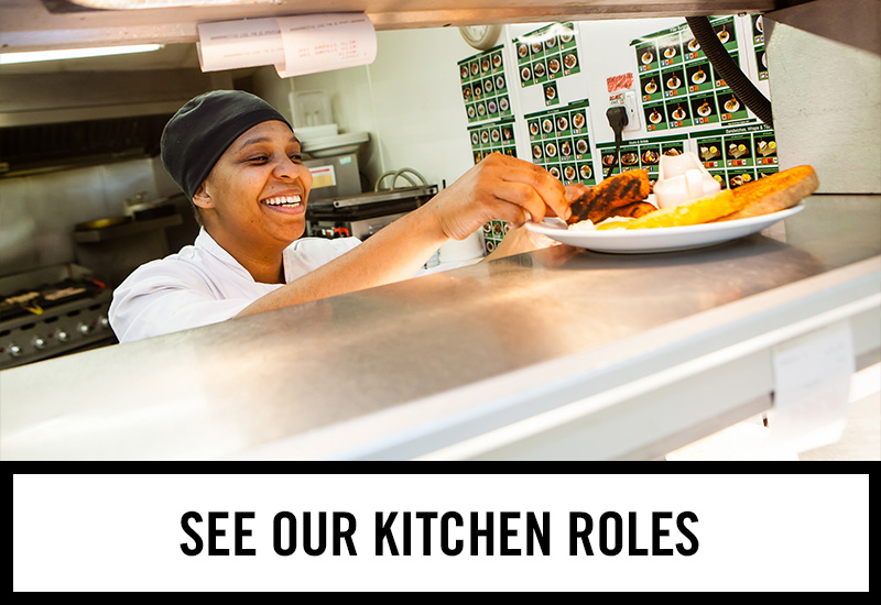 Kitchen roles at The Three Crowns